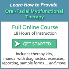 Myofunctional Therapy Online Course